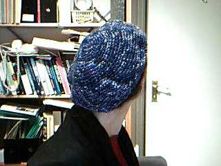 Ms Hedgehog's slouchy beret