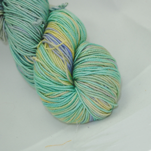 Manjula - Yellow, Violet, Turquoise & Green
