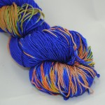 Mandula Royal Blue with hints of Orange & Green