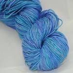 Manjula turquoise blue lilac