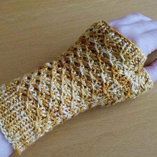 Turmeric Fingerless Gloves