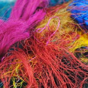 Sari Silk fibres