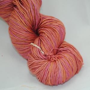 Manjula – Light Orange, Magenta