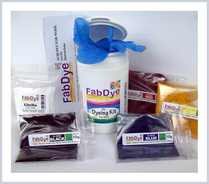 FabDye Mini Kit for Wool